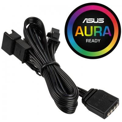 PHANTEKS 4-Pin RGB LED Adapter Cable For Mainboards With LED Header - 1