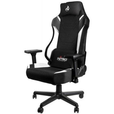 Nitro Concepts X1000 Gaming Chair - Radiant White - 1