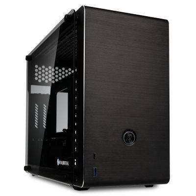 Raijintek Ophion EVO Mini-ITX Case, Tempered Glass - Black - 1