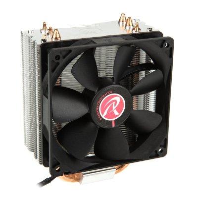 RAIJINTEK Themis Black, Heatpipe CPU Air Cooler, PWM - 120mm - 1