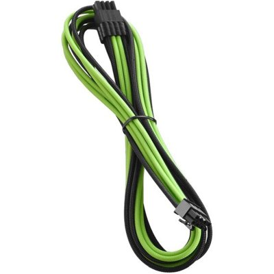 CableMod RT-Series PRO ModMesh 8-Pin PCIe Cable For ASUS/Seasonic (600mm) - Black/Green - 1