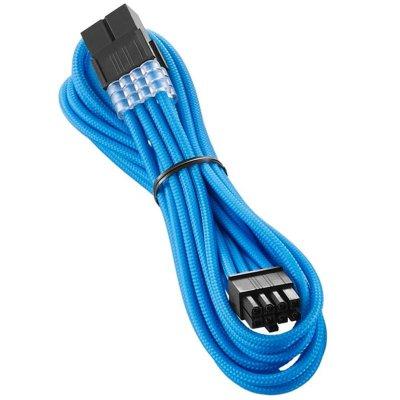 CableMod PRO ModMesh 8-Pin PCIe Extension - 45cm, Light Blue - 1