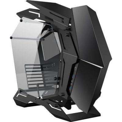 Jonsbo MOD3 Full-Tower Showcase, Tempered Glass - Black - 1