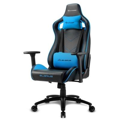 Sharkoon ELBRUS 2 Gaming Chair, Black / Blue - 1