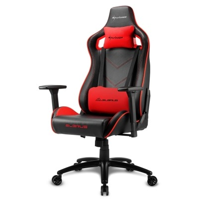 Sharkoon ELBRUS 2 Gaming Chair, Black / Red - 1