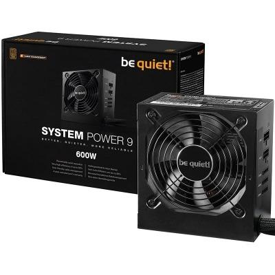 be quiet! System Power 9 CM, Power Supply, 80 PLUS Bronze - 600 Watt - 1