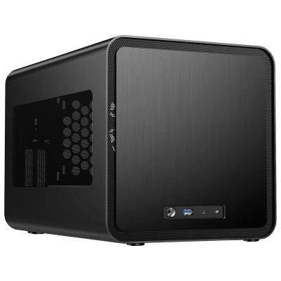 Jonsbo V8 Mini-ITX Case - Black - 1