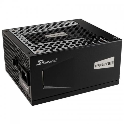 Seasonic Prime, Power Supply, 80 PLUS Titanium, Modular - 650 Watt - 1