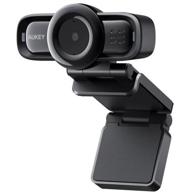 Aukey LM3 1080p Webcam, Autofocus - Black - 1