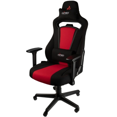 Nitro Concepts E250 Gaming Chair - Inferno Red - 1