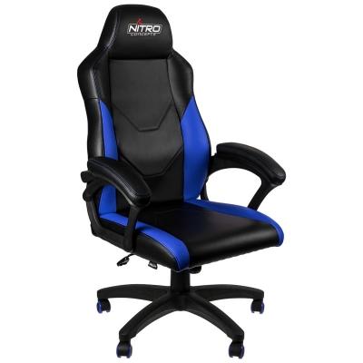 Nitro Concepts C100 Gaming Chair - Black/Blue - 1