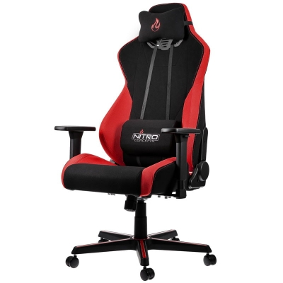 Nitro Concepts S300 Gaming Chair - Inferno Red - 1