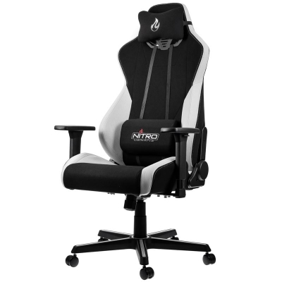 Nitro Concepts S300 Gaming Chair - Radiant White - 1