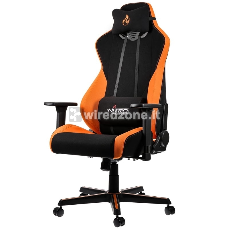 Nitro Concepts S300 Gaming Chair - Horizon Orange - 1