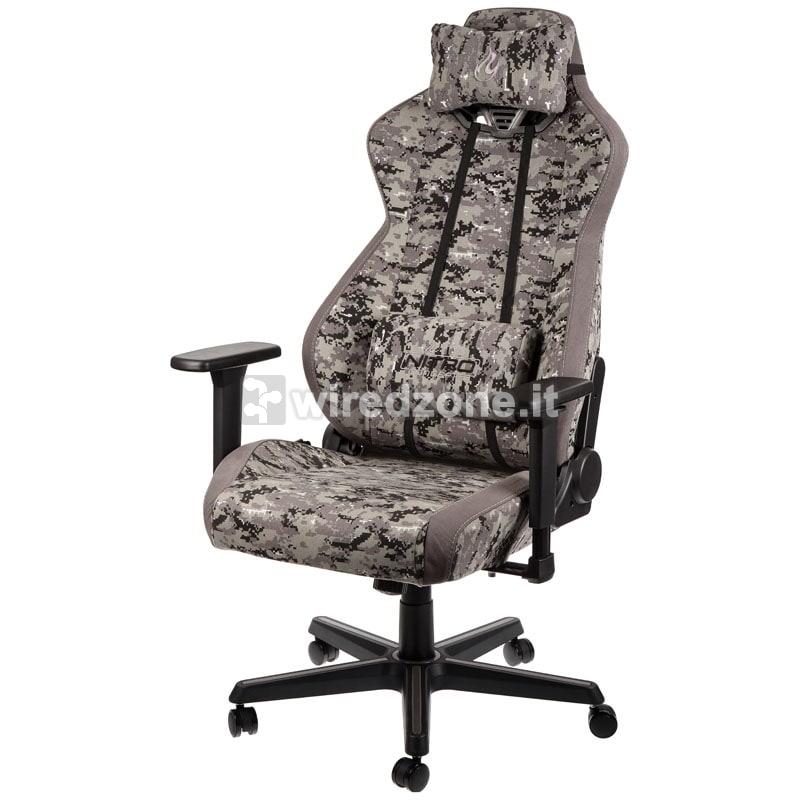Nitro Concepts S300 Gaming Chair - Urban Camo - 1
