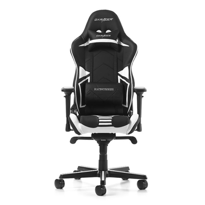 DXRacer Racing Pro R131-NW Gaming Chair - Black/White - 1