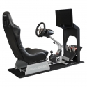 Playseat Evolution Racing Chair, Fake Leather - Black - 7
