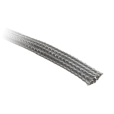 Techflex Flexo PET Sleeve 9mm - Platinum Grey, 1m - 1