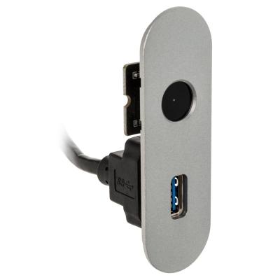 Streacom I/O Panel For DA2 - 1x USB 3.0 Type-A, Silver - 1