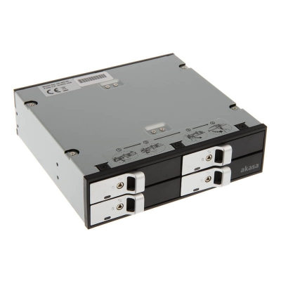 """Akasa Elite 5,25"""" Drive Cage For Four Bay 2,5"""" HDD / SSD - 1"""