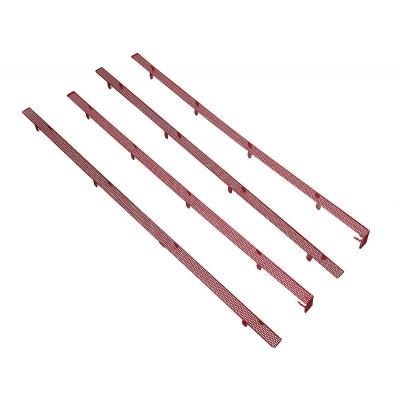 BitFenix Mesh Stripes For Shinobi Mid-Tower - Red - 1