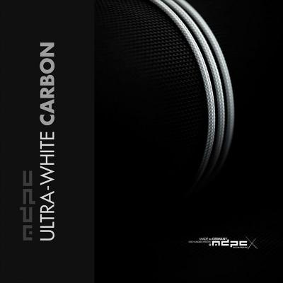MDPC-X Sleeve XTC - Ultra-White Carbon, 1m - 1