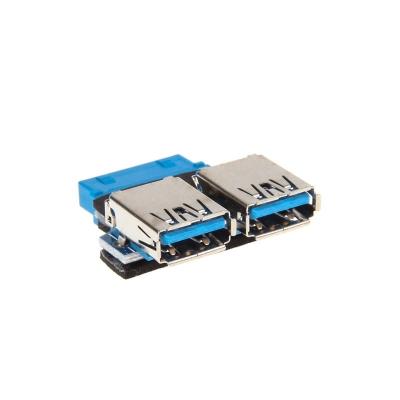 InLine Adapter Internal USB 3.0 To External USB 3.0 - Platinum - 1
