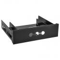 Lian Li BZ-516X Front Panel For LED Dimmer - Black - 1