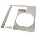 DimasTech PCI Back Panel Mini-ITX, 2 Slots - Aluminum - 1