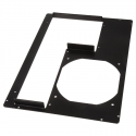 DimasTech PCI Back Panel Micro-ATX, 5 Slots - Black Graphite - 1
