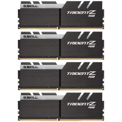 G.Skill Trident Z RGB Black, DDR4-3600, CL18 - 128 GB Quad-Kit - 1