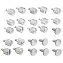 DimasTech Benchtable NANO Silver ThumbScrews Kit - 2