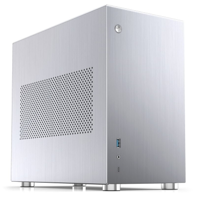Jonsbo V10 Mini-ITX - Silver - 1