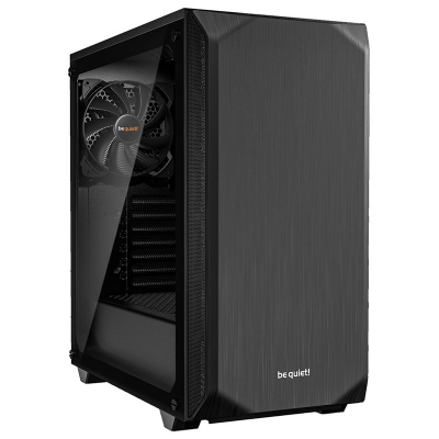 be quiet! Pure Base 500 Mid-Tower - Black Window - 1