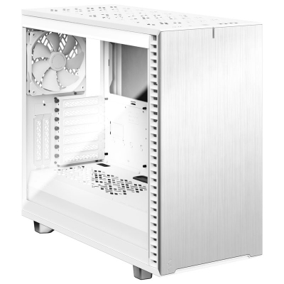 Fractal Design Define 7 White TG Mid-Tower - Tempered Glass, Insulated, White - 1