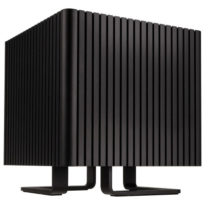 Streacom DB4 Fanless Cube Case - Black - 1