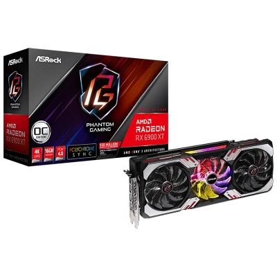 ASRock Radeon RX 6900 XT Phantom Gaming D 16G OC, 16384 MB GDDR6 - 1