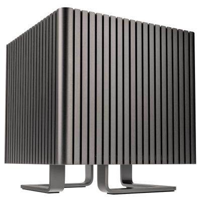 Streacom DB4 Fanless Cube Case - Titan - 1