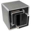 Streacom DB4 Fanless Cube Case - Silver - 5