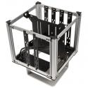 Streacom DB4 Fanless Cube Case - Silver - 7