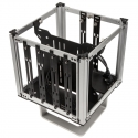 Streacom DB4 Fanless Cube Case - Silver - 8