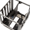 Streacom DB4 Fanless Cube Case - Silver - 9