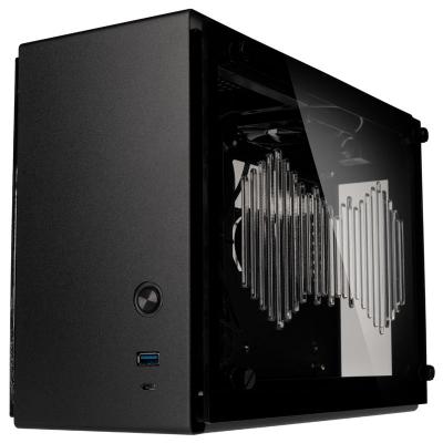 Zalman M2 Mini, Mini-ITX, Side Glass - Grey - 1