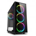 Sharkoon TG4 RGB Mid-Tower, Side Glass - Black - 1