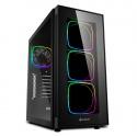 Sharkoon TG6 RGB Mid-Tower, Side Glass - Black - 1