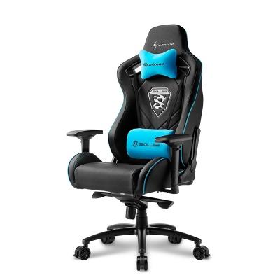Sharkoon SKILLER SGS4 Gaming Chair - Black / Blue - 1