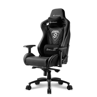 Sharkoon SKILLER SGS4 Gaming Chair - Black - 1