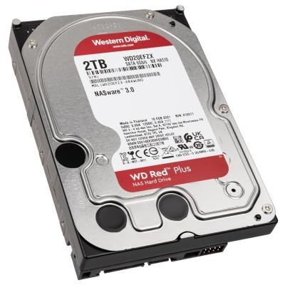 """Western Digital Red Plus, SATA 6G, Intellipower, 3,5"""" - 2 TB - 1"""