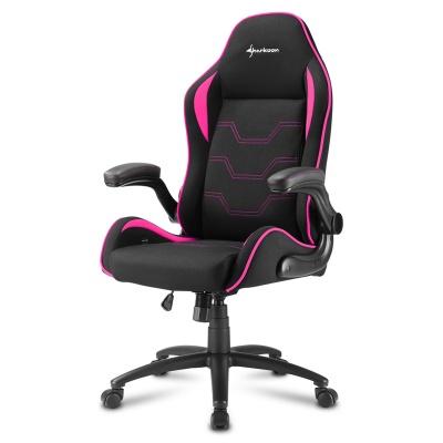 Sharkoon ELBRUS 1 Gaming Chair, Black / Pink - 1