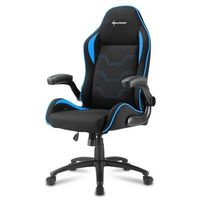 Sharkoon ELBRUS 1 Gaming Chair, Black / Blue - 1